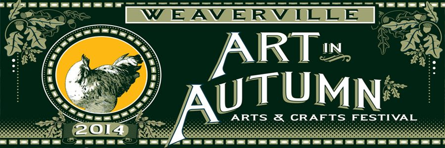 Weaverville Art in Autumn Banner