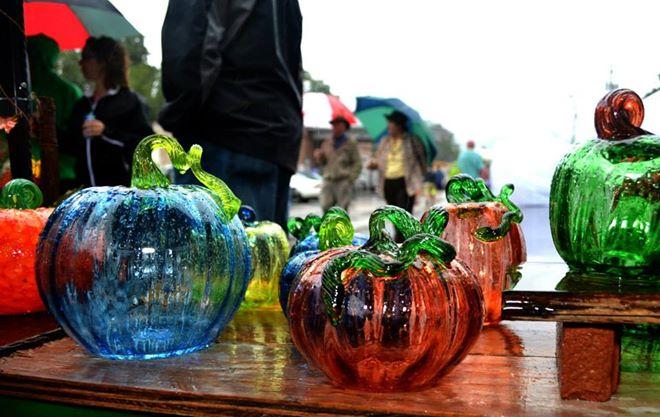 Weaverville Art in Autumn