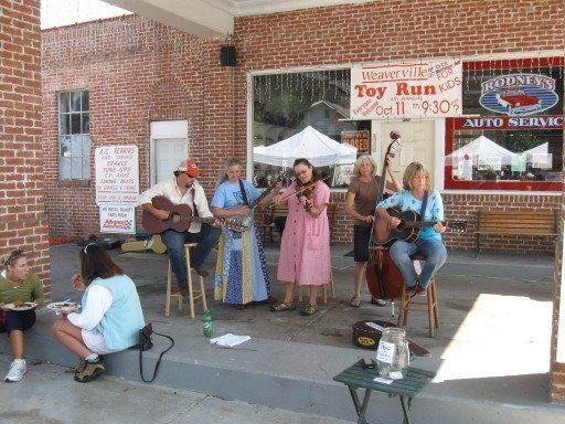 Art in Autumn Weaverville Band