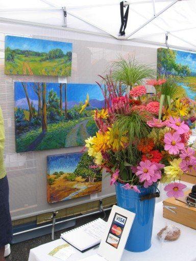 Art in Autumn Flowers Weaverville