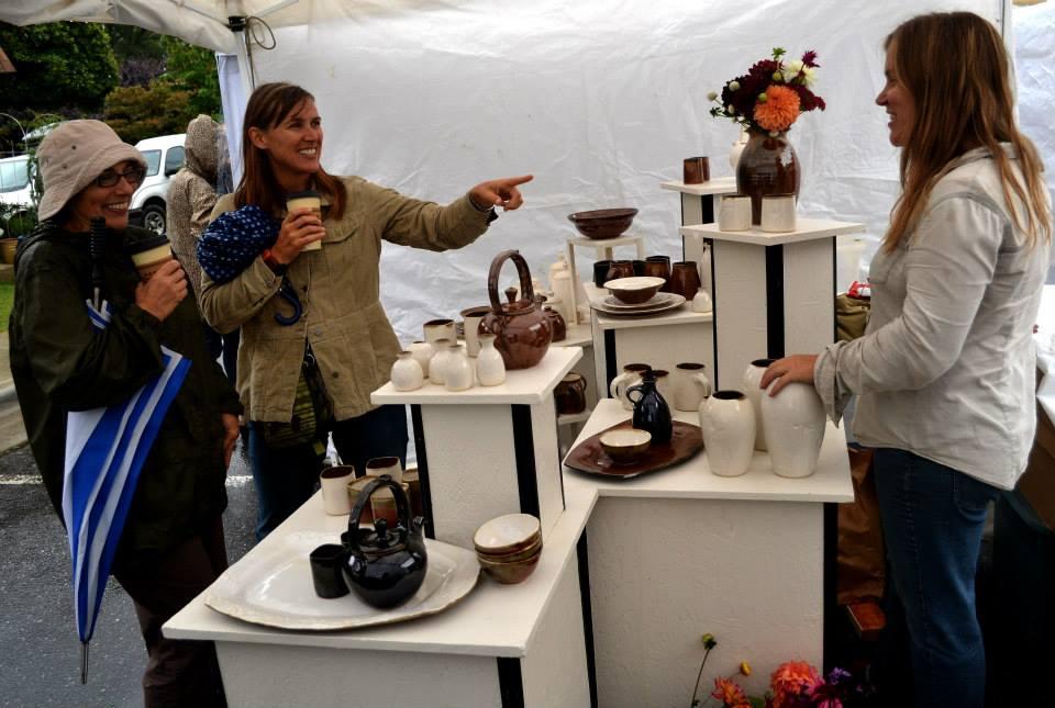 Art in Autumn Weaverville Pottery