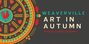 Weaverville Art in Autumn Logo