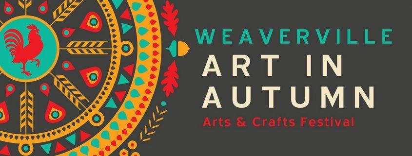 Weaverville Art in Autumn Logo