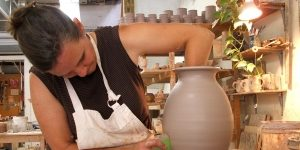 Pottery in Weaverville