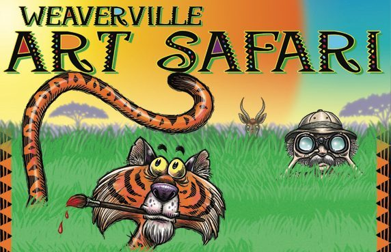 Weaverville Art Safari Logo
