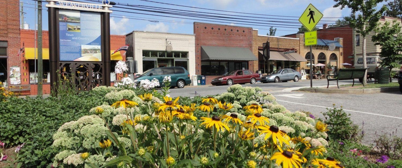 Weaverville NC Street