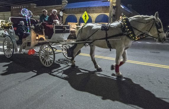 Candle Light Stroll Horse and Buggy