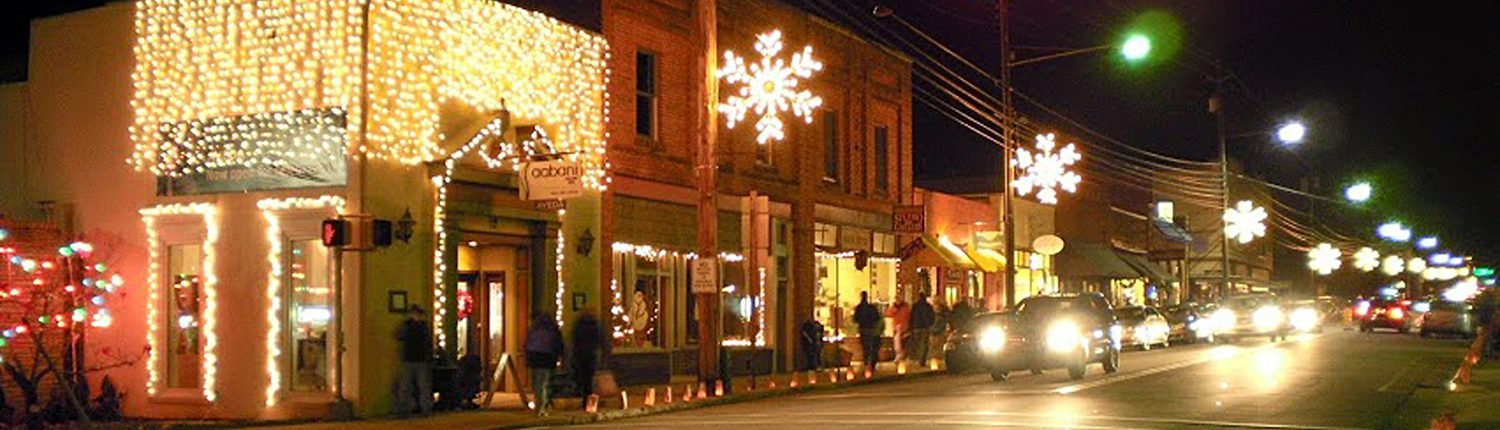 candlelight stroll Weaverville NC