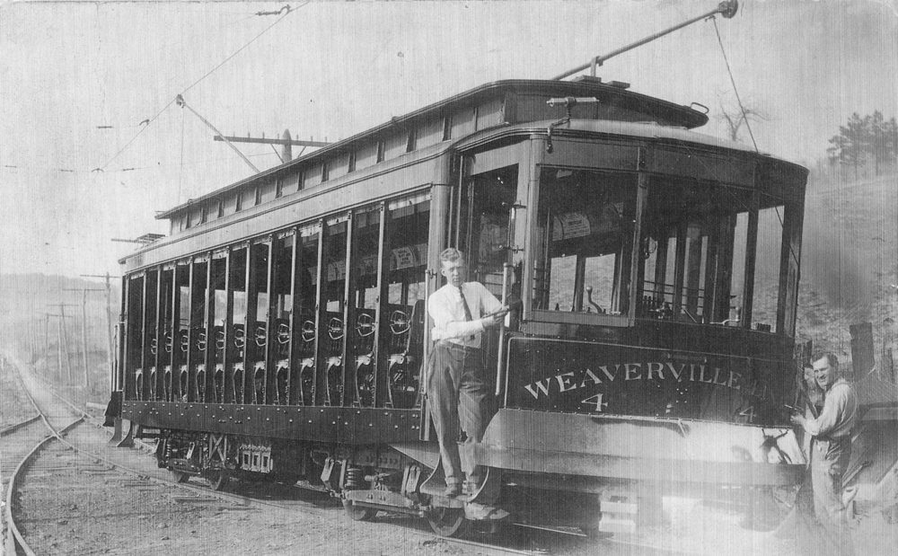 trolly in Weaverville